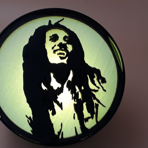 "20190601_095415.jpg Download STL file ""Bob Marley"" spotlight • 3D print object, symbo_leo"