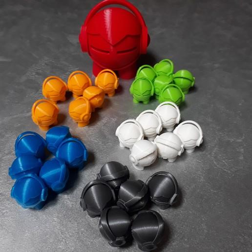 20200330_140015.jpg Download free STL file Marvin headphone • 3D printable template, symbo_leo