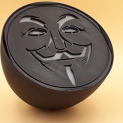 """Télécharger modèle 3D Spot """"anonymous"""", bobydelyon"""