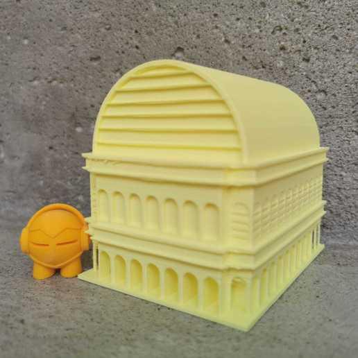 Download free STL file OPERA - MARVIN GAME - LYON • 3D print template, symbo_leo