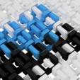 STL gratuit Chainmail 2.0 - Tissu imprimable 3D modulaire, flowalistik