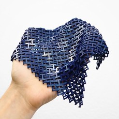 Download free STL file Chainmail - 3D Printable Fabric • 3D printer design, flowalistik