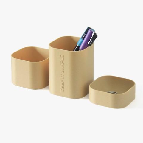 Impresiones 3D gratis Organizador de escritorio - Keep It Simple, flowalistik