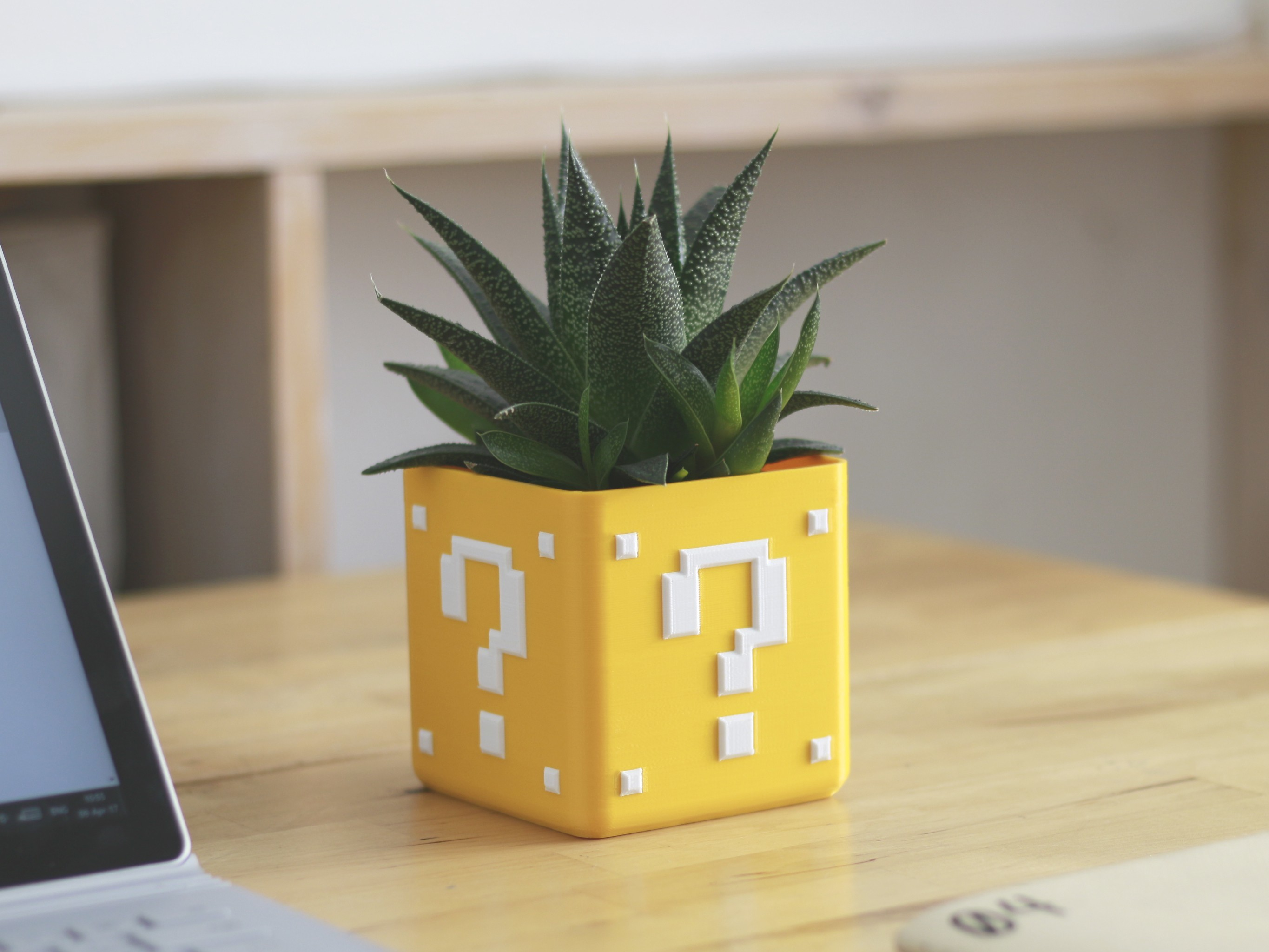 supermario_planter_1_thingiverse.jpg Download free STL file Video Game Planter Collection • Object to 3D print, flowalistik