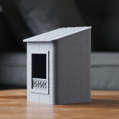 Download free 3D printer designs Birdhouse 16eme, flowalistik