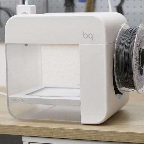 Free STL BQ Witbox Go - 1Kg Spool Holder, flowalistik
