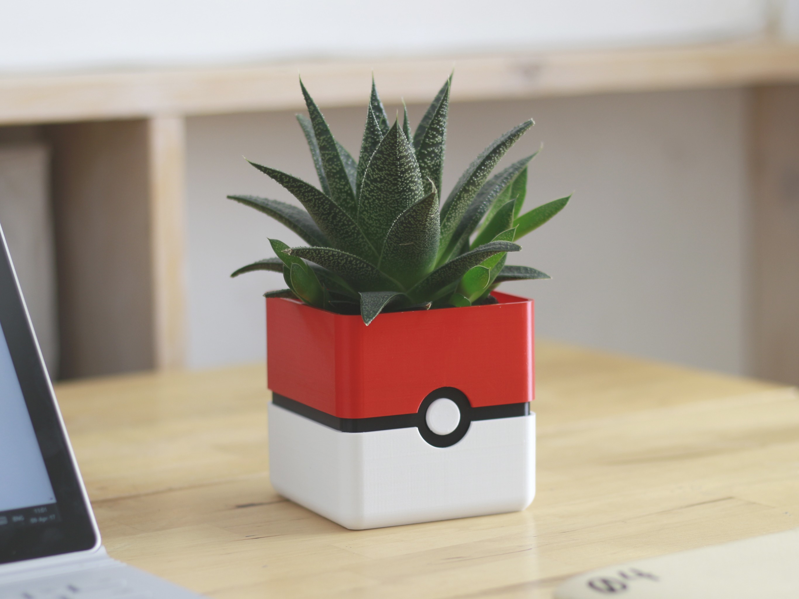 pokemon_planter_1_thingiverse.jpg Download free STL file Video Game Planter Collection • Object to 3D print, flowalistik