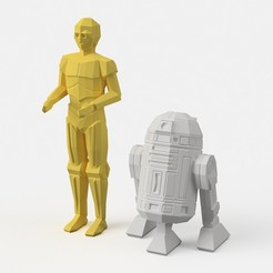 Free 3d printer model Low-Poly Toys, flowalistik