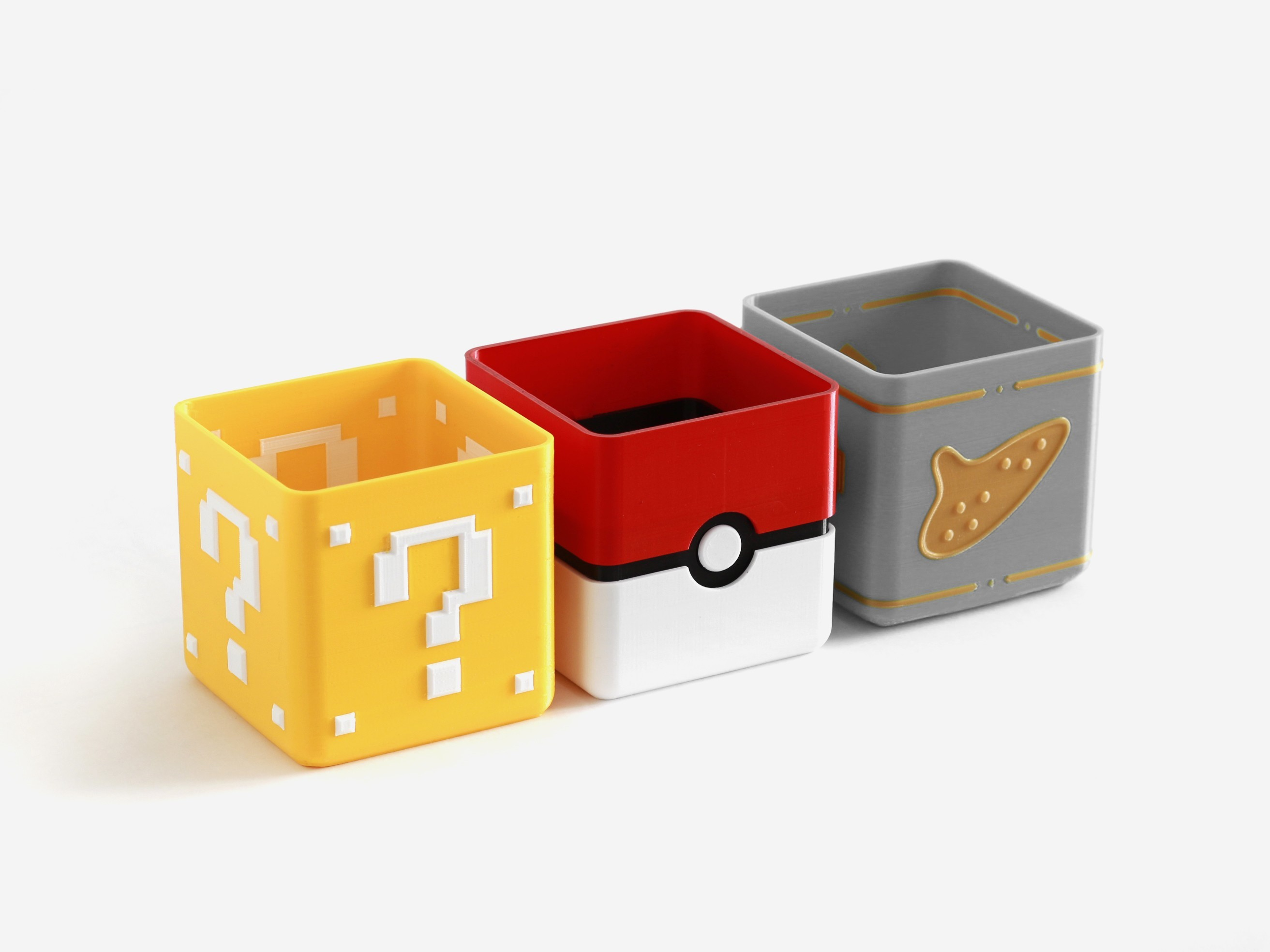 videogame_planter_1_thingiverse.jpg Download free STL file Video Game Planter Collection • Object to 3D print, flowalistik