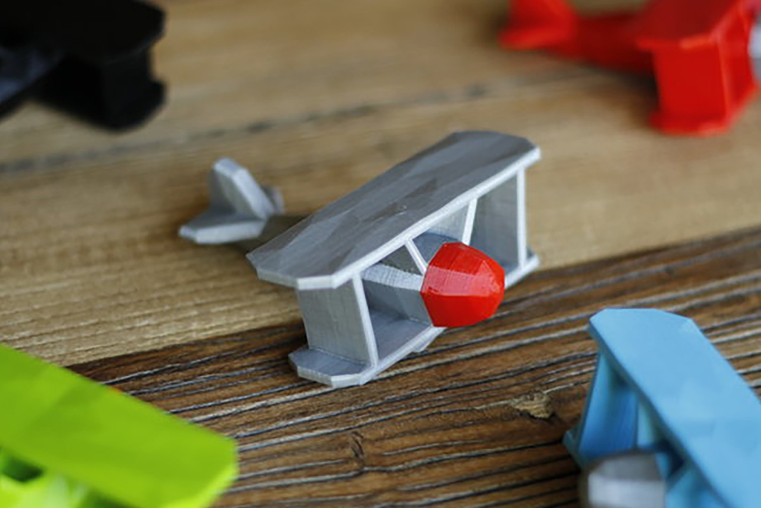 thingiverse_stoyries.jpg Download free STL file Stoyries - Low-Poly Plane • Template to 3D print, flowalistik