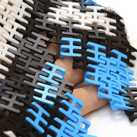 Free 3D print files Chainmail 2.0 - Modular 3D Printable Fabric, flowalistik