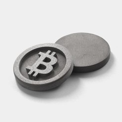 Download free 3D printing files Bitcoin, flowalistik