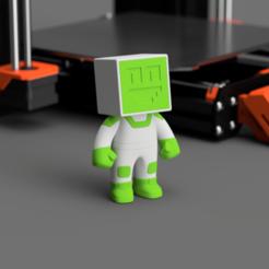flowalistik_filameno_impresoras3Dcom_1 lowres.png Download free STL file Filameno - Impresoras 3D mascot • 3D printer template, flowalistik
