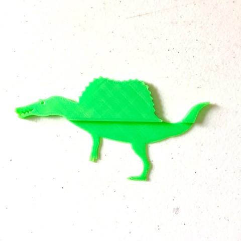 Photo 9-4-18, 1 00 59 PM.jpg Download free STL file Spinomark (Bookmarker) • 3D printable object, 3DMX