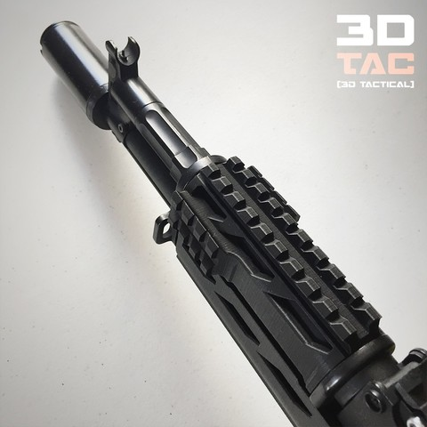 3DTAC_Covers_AKMP_2.jpg Download STL file 3DTAC / AK Complete Modular Package (Airsoft only) • 3D printable object, 3DMX