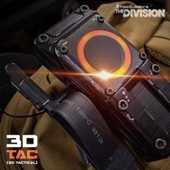 Download 3D printing models 3DTAC / The Division ISAC / Deluxe Version, SR-3D