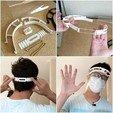 Imprimir en 3D gratis Protector facial para impresoras 3D más pequeñas - 25+ impresiones por rollo de 1Kg (3lb), 3DMX