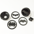 Download free 3D printing designs Clip-On Pocket Bat-Signal!, 3DMX