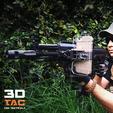 Download STL file 3DTAC / SMARTCLIP / PHONE RAIL MOUNT • 3D print design, 3DMX