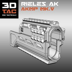 3DTAC / AK Complete Modular Package (Airsoft only) 3D printer file, 3DNG_MX