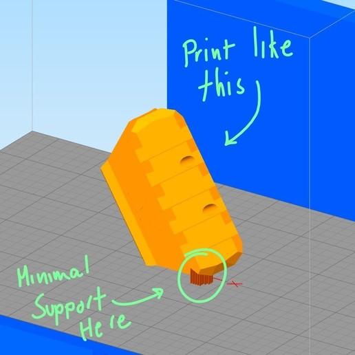 Annotation 2019-12-17 105251.jpg Download STL file 3DTAC - 45° Rail • 3D printable model, 3DMX