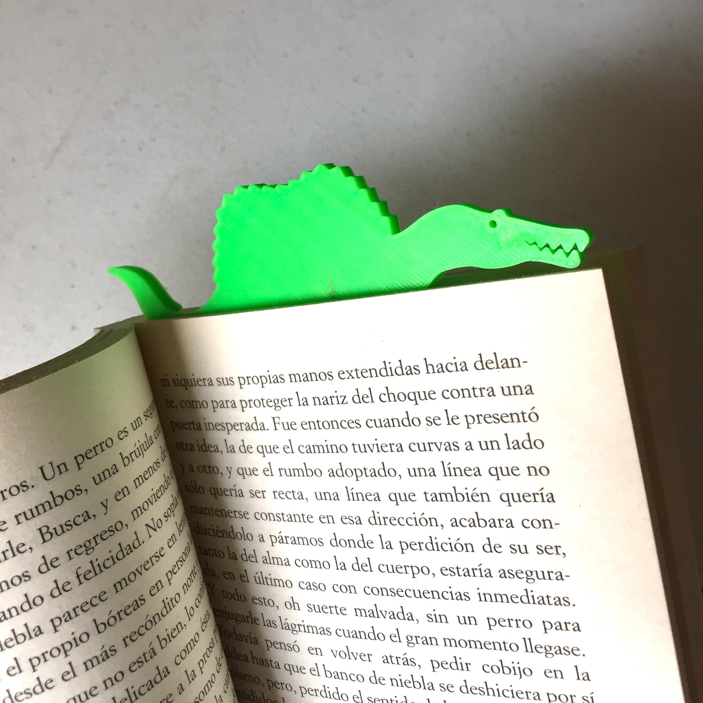 Photo 9-4-18, 1 00 15 PM.jpg Download free STL file Spinomark (Bookmarker) • 3D printable object, 3DMX
