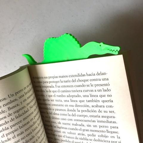 Free 3d printer model Spinomark (Bookmarker), SergeRomero