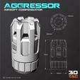 Descargar archivos 3D 3TAC / Compensadores Airsoft / Pack-2 (3 modelos incluidos), 3DMX