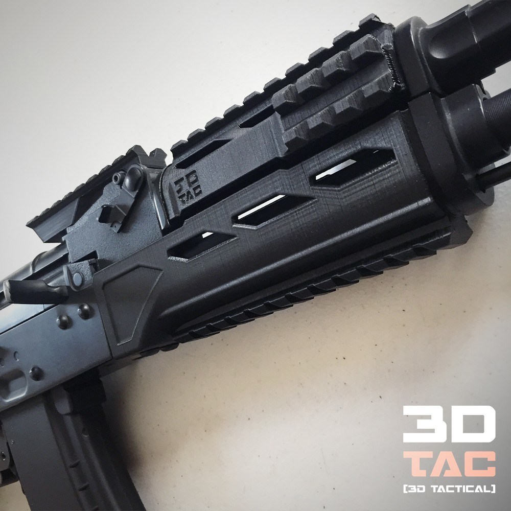 3DTAC_Covers_AKMP_3.jpg Download STL file 3DTAC / AK Complete Modular Package (Airsoft only) • 3D printable object, 3DMX