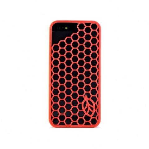 Download STL file iphone 5 hexagon case • 3D print template, ideamx