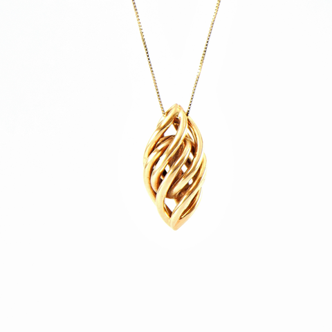 3D print model spiral pendant, ideamx