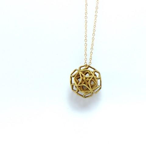 stl file trifolium pendant, ideamx