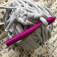 Download free 3D printer model Large Crochet Hook, Lockheart