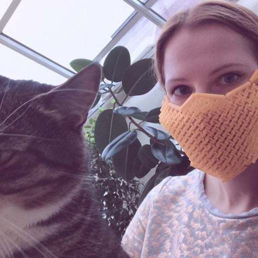 fabric surgical mask