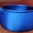 Download free 3D printing files Threaded Bowl1, Birk