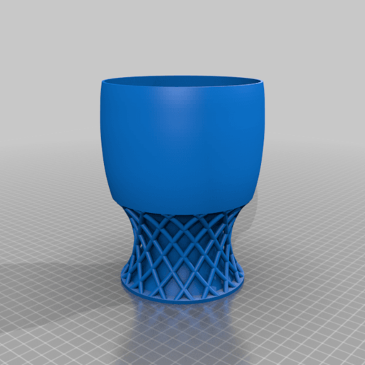 Download free 3D printer designs PlatformCups1, Birk