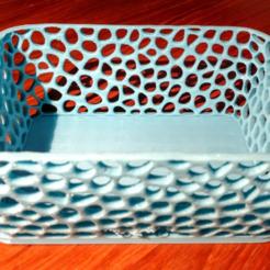 stl Voronoi Box2 gratis, Birk