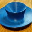 Free 3d printer files WaterfallDish2, Birk