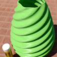 Capture d'écran 2017-07-11 à 11.34.13.png Download free STL file SIngleTwistVase1 • 3D print design, Birk