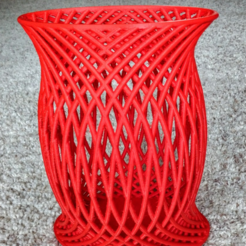 Download free 3D printer designs BasketWeave1, Birk