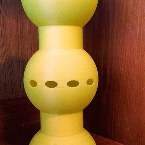 Download free 3D printer designs SphereLamp2, Birk