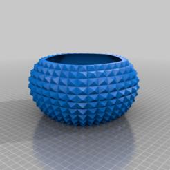 diamondbowl1.png Télécharger fichier STL gratuit DiamondBowl1 • Modèle pour imprimante 3D, Birk