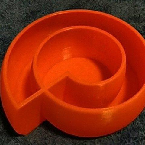 Free 3D model SpiralBowl1, Birk