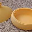 Free Ellipse bowl + top 3D model, Birk