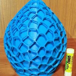 PHOTO_20191221_200405.jpg Download free STL file VoronoiLamp1 • 3D printer template, Birk