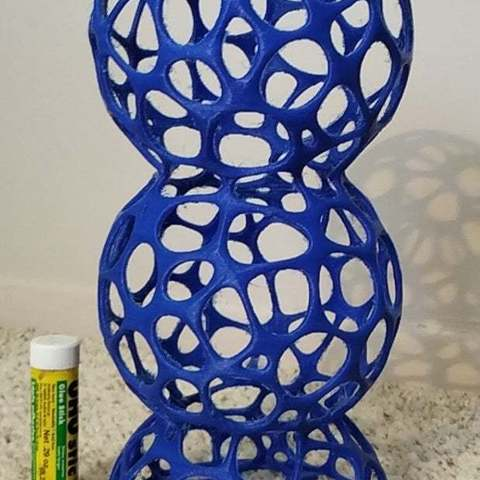Free 3D printer designs VoronoiSpheres1, Birk