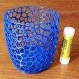 Download free STL VoronoiCup1, Birk