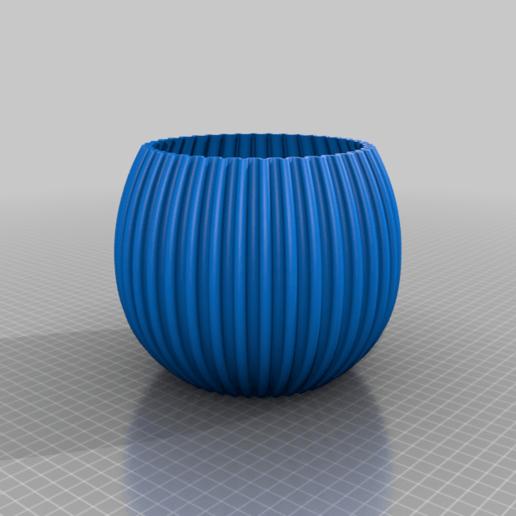 arcvase3.png Télécharger fichier STL gratuit ArcVase3 • Plan pour impression 3D, Birk