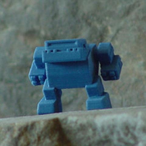 Download STL file Bulldog Bot 01 • 3D printing design, robot43
