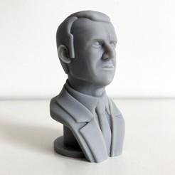 0.jpg Download free STL file Emmanuel Macron • 3D print model, Cults